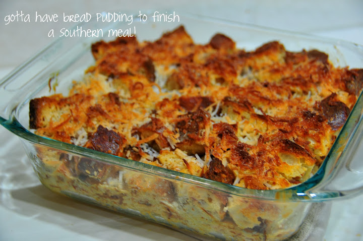 Mango Coconut Bread Pudding » musings of an epicurean…