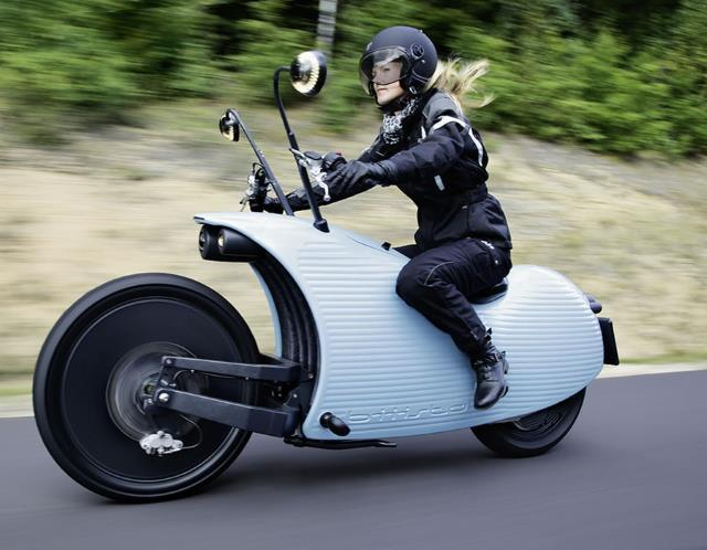Johammer J1 Electric Motorcycle (© Johammer)