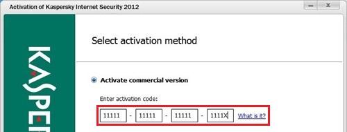 Kích hoạt KAV 2012 bằng key file