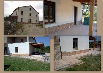 La nostra casetta zoccolo esterno - Zoccolo esterno facciata ...