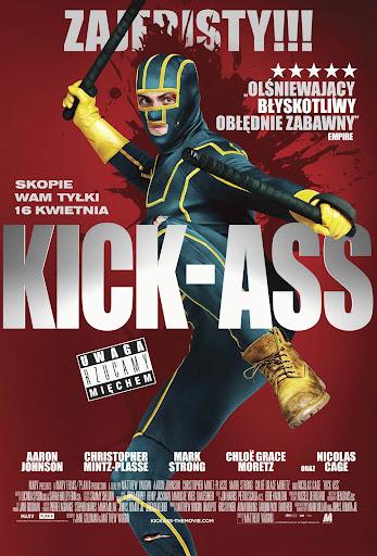 Polski plakat filmu 'Kick-Ass'
