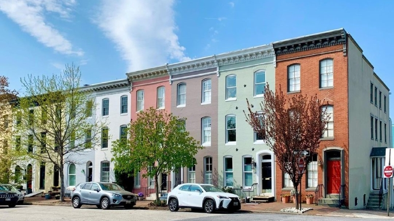 Federal Hill is a charming harborside neighborhood in Baltimore, MD.