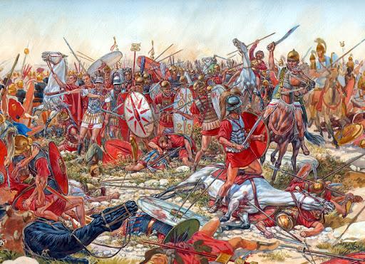 La Batalla de Cannae. Una Obra de Arte de Estrategia....