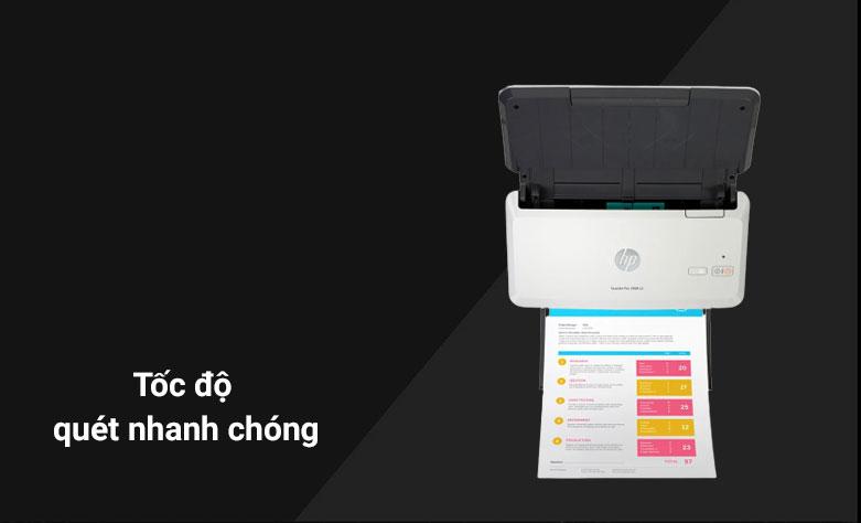 Máy quét/ Scanner HP 2000 S2 (6FW06A) | Tốc độ quét nhanh chóng