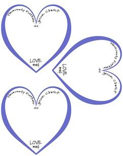 Heart Badge Blue