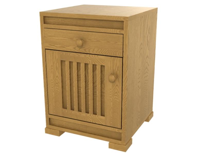 Hillside Platform Bed Solid Wood Platform Bed In The