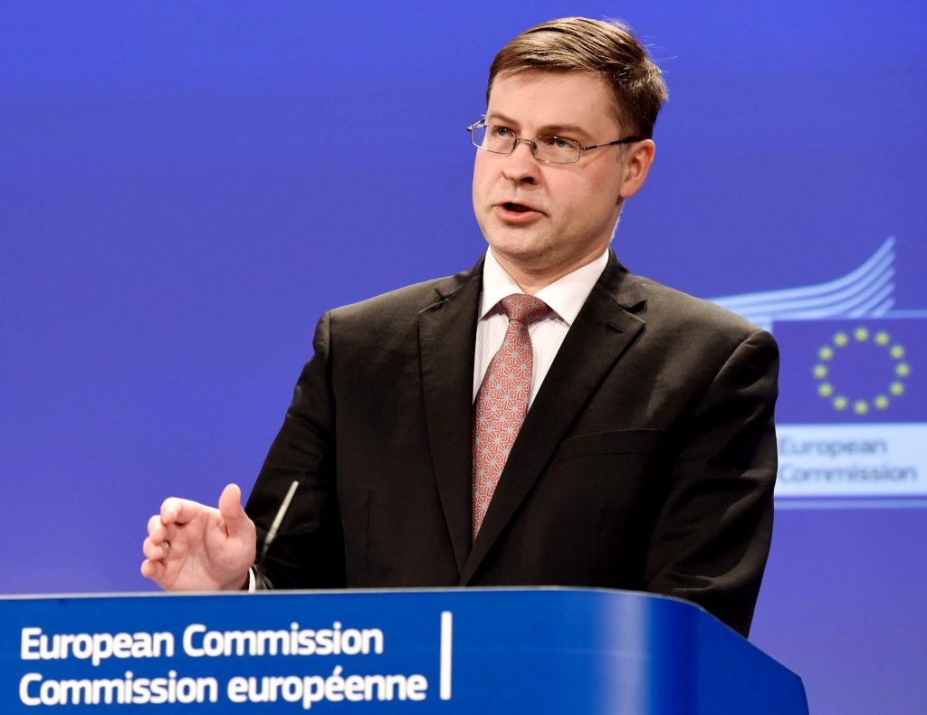 Valdis Dombrovskis, Executive Vice-President of the European Commission
