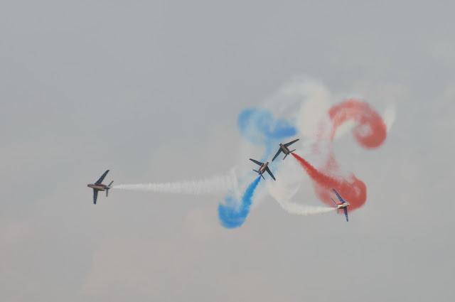 PATROUILLE de FRANCE Alphajets aerobatics - Reims airshow