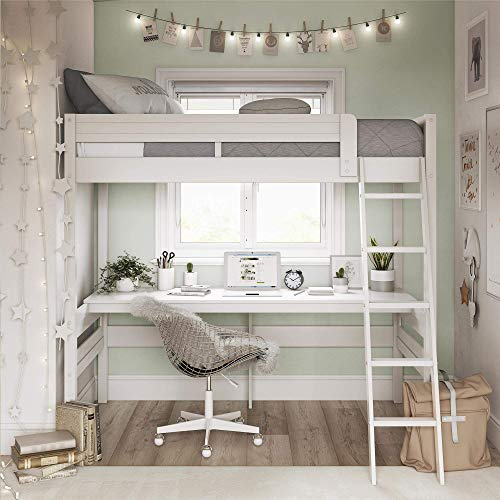 Space Below Your Loft Bed, Bed Above Desk