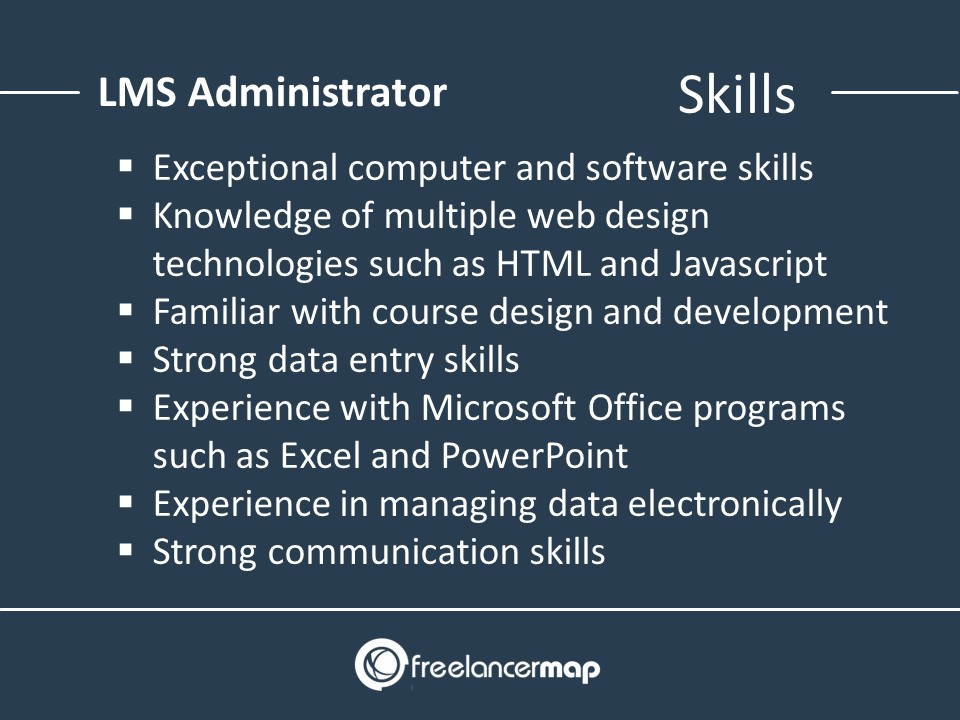 Skills of an LMS Administrator