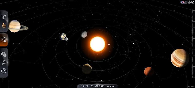 Media pembelajaran Astronomi  3D