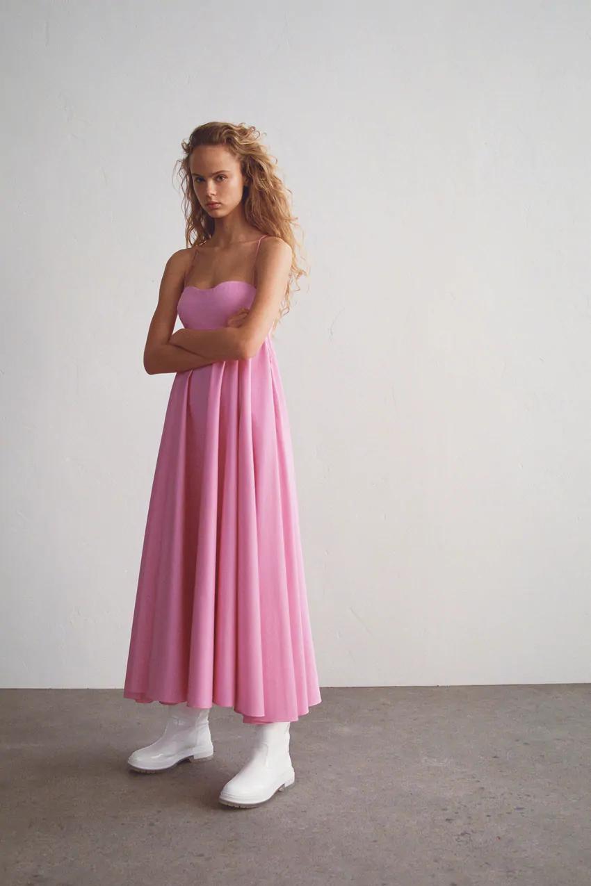pink maxi