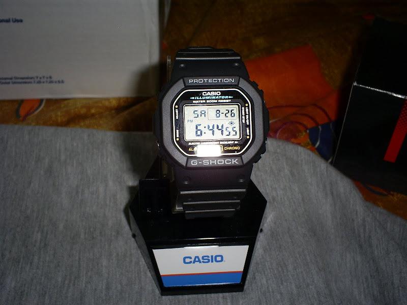 7de839c32 Casio dw5600 pra eu usar nas missões mais arriscadas