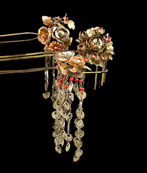 Image result for metal kanzashi