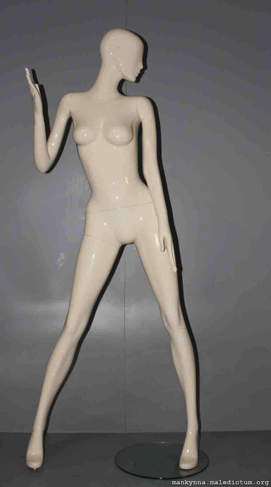 Язык тела манекена