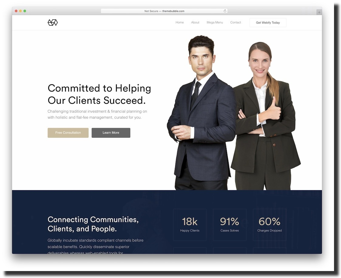 Webify template