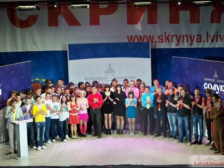 Перша гра 1/8 фіналу Відкритої телевізійної ліги КВН Європа. Фоторепортаж