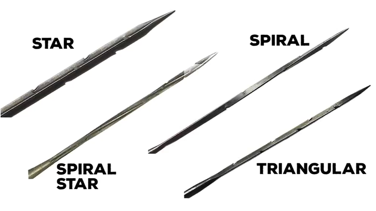 different types of needles