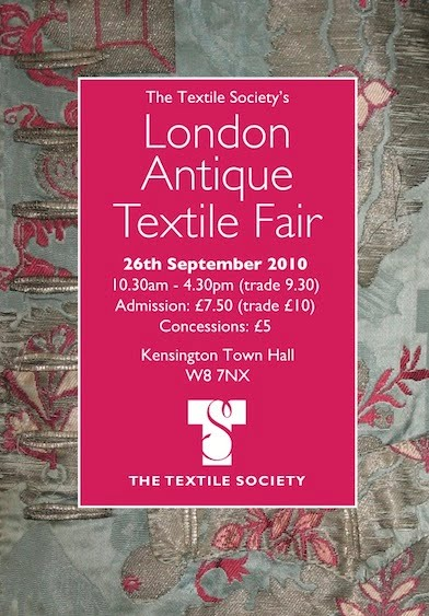 Textile Treasures at the Textile Society's Antique Textile Fair