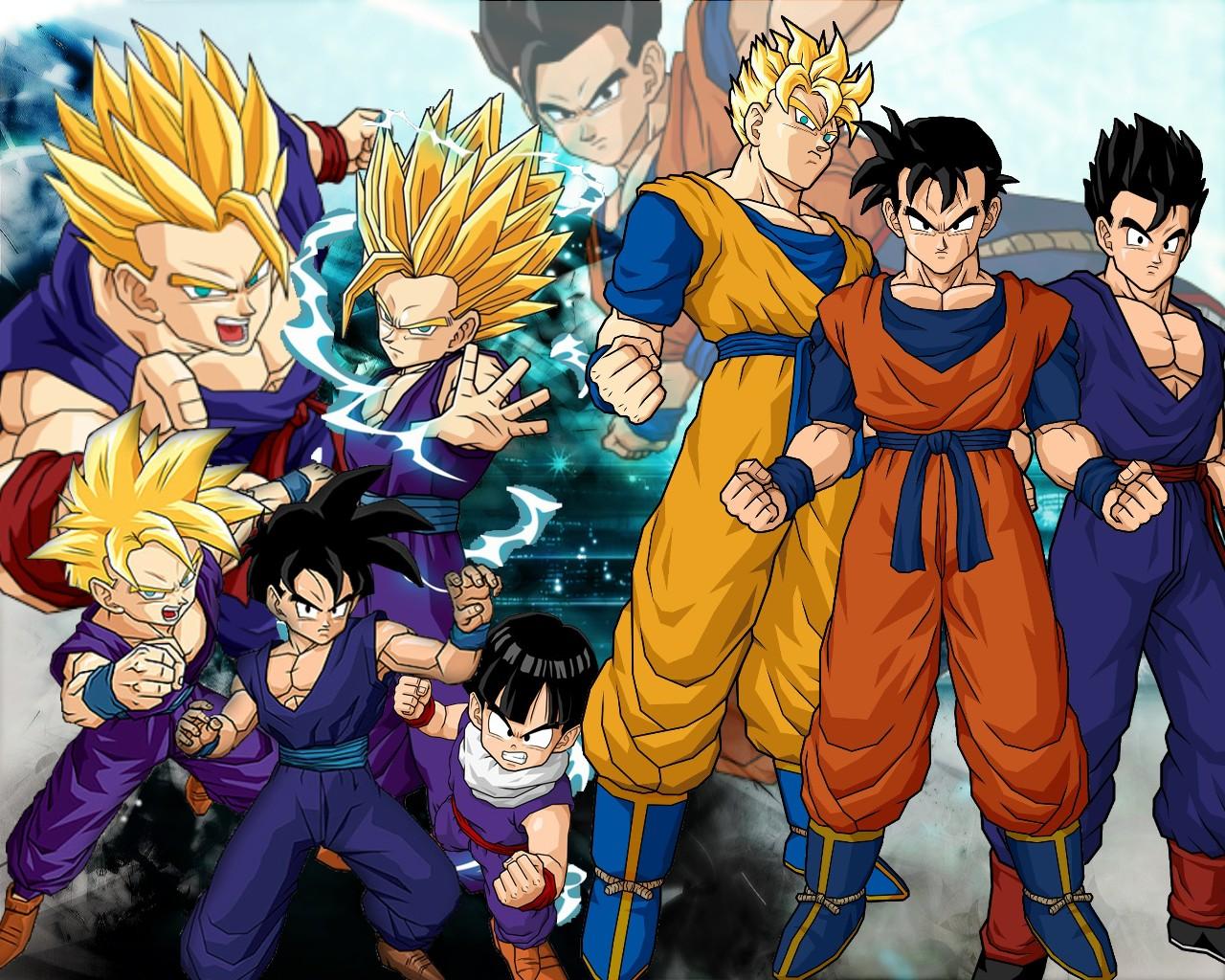 Imagenesde99 Imagenes De Goku Fase 10 Para Descargar: Imagenesde99: Imagenes De Goku Con Gohan