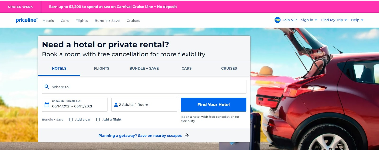 Almowafir has exclusive Priceline coupon, Priceline discount code & Priceline promo code to book at Priceline flights, Priceline hotels & Priceline car rental and more.