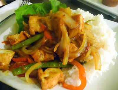 Pho PDX's lemongrass tofu stir-fry, Pho PDX, now Luc Lac Vietnamese, Portland, Oregon