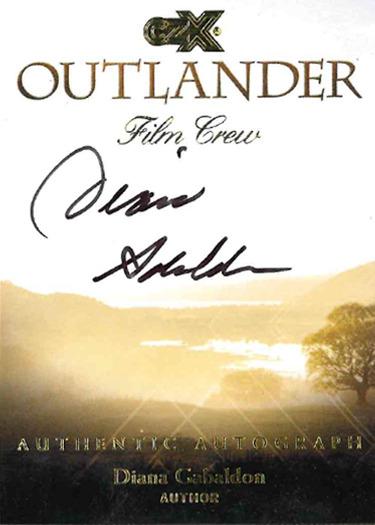 CZX Outlander: Autograph Card