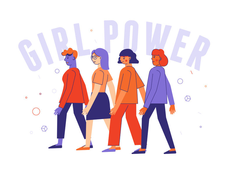 25 Women Inspired Vectors That Will Empower Your Designs - 123RF blog
