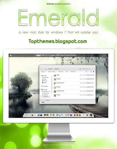 Emerald theme for windows 7