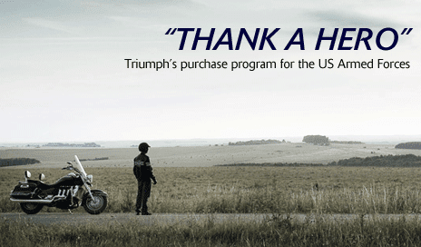 Triumph's Thank a Hero Program