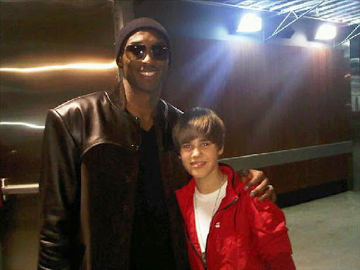 justin bieber kobe Party posse Justin Biebers Party Pals with Kim Kardashian