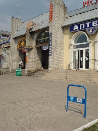 Велостоянка біля ТЦ