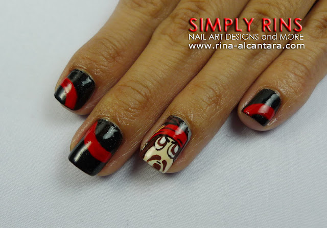Nail Art Pirates Of The Caribbean Simply Rins