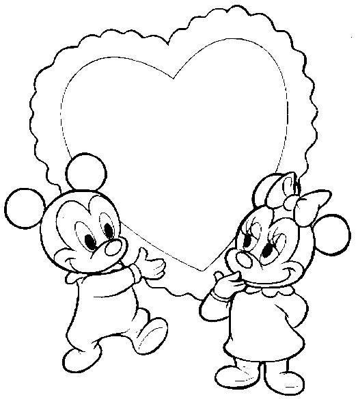 amor y la amistad para colorear