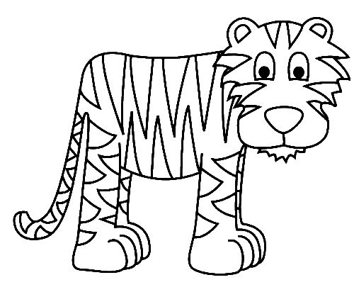 tiger coloring pages title=