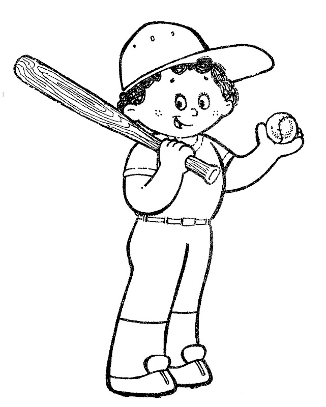 beisbol coloring pages - photo#7