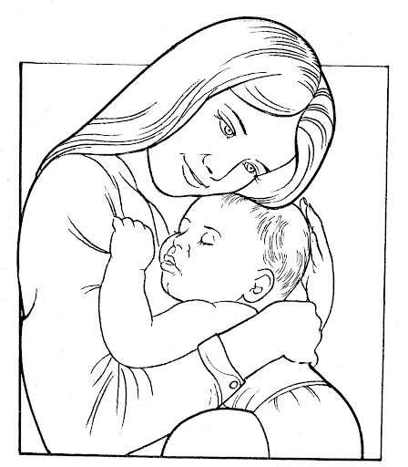 mom and baby coloring pages mom and baby hands coloring coloring pages