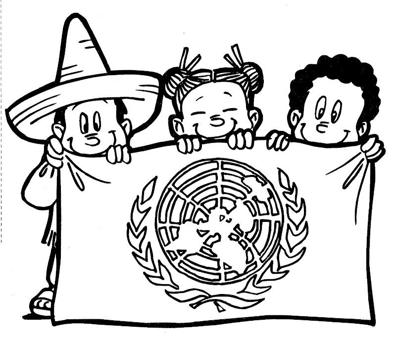 dibujos para colorear 24 de octubre