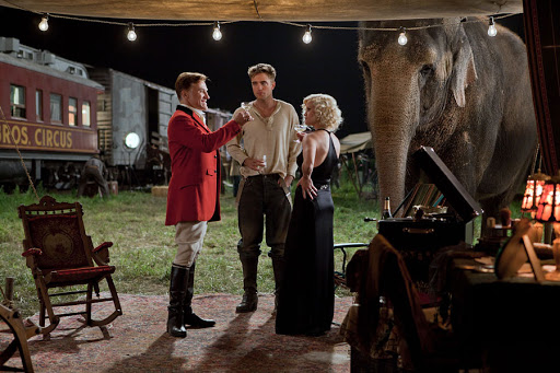 Christoph Waltz, Robert Pattinson and Reese Witherspoon in 20th Century Fox's Water for Elephants