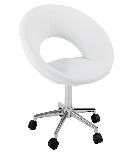 round white office chair