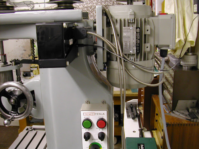 Improvements To A Linley Mill Model Engineer