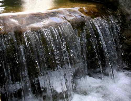 Один из множества каскадов на водопадах Нгонье
