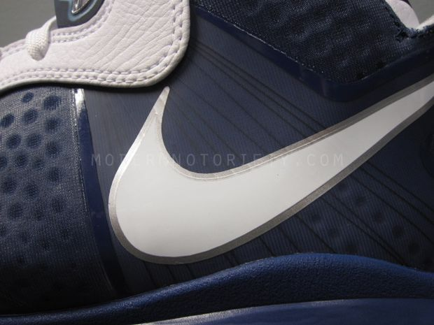 free shipping 153d8 2d98b Nike LeBron 8 V2 NavyWhiteSilver aka 8220Yankees8221 Actual Photos Show  Album · air ...