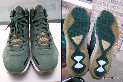 nike air max lebron 8 pe svsm away 3 02 Nike Air Max LeBron 8 V/1   SVSM Home&Away   Detailed Look
