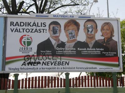 Vona Gábor, Győri Sarolta,  Kassab Adonis István, Morvai Krisztina