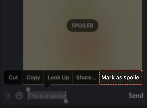 label as spoiler