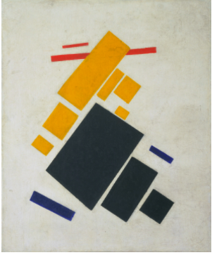 Kazmir Malevich  Suprematist Composition: Airplane Flying