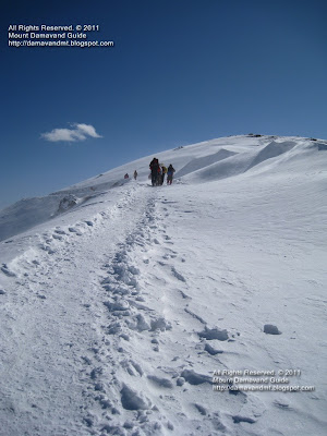 Mount Tochal Iran Winter Climbing