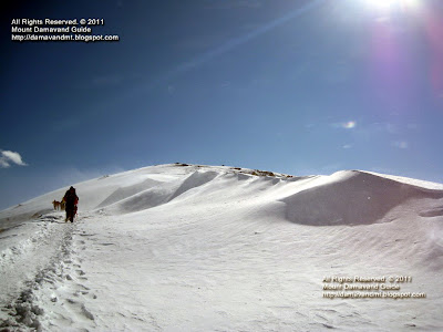 Winter Climbing Iran Mountains