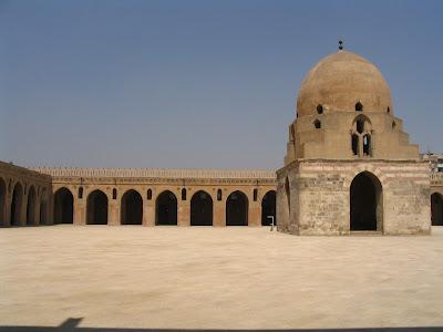 Mezquita en el Cairo: Egipto